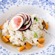 Bircher Muesli with Figs and Raw Honey
